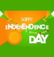 india happy independence day vector image