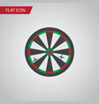isolated darts flat icon arrow element can vector image vector image