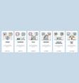 mobile app onboarding screens health hospital vector image vector image