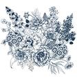 Nice flowers vector image vector image