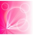 Pink light abstract background vector image vector image