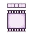 seamless template cinema or photo strip vector image vector image