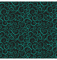 Vintage seamless texture with leaf vector image