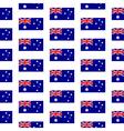 Australia flag seamless pattern vector image vector image