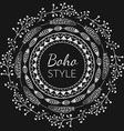 Boho Style Frame vector image
