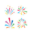 fireworks graphic design template isolated vector image