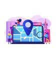 local search optimization concept vector image