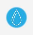 oil drop icon sign symbol vector image vector image