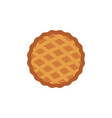 thanksgiving pie icon thanksgiving holiday vector image vector image