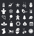 set of christmas icons set of christmas icons vector image