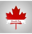 design a banner for canada day 1 st july vector image