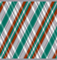 rhombic tartan seamless texture in red different vector image vector image