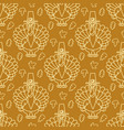 thanksgiving holiday seamless pattern turkey and vector image vector image