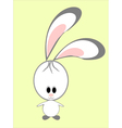 a funny rabbit vector image vector image
