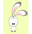 A funny rabbit vector image vector image