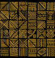 african vibes seamless pattern in ethnic tribal vector image vector image