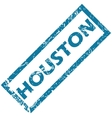 Houston rubber stamp vector image