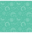 Seamless line pattern for Patricks Day The vector image