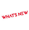 what is new rubber stamp vector image vector image