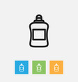 of cleanup symbol on cleaner vector image