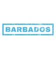 Barbados Rubber Stamp vector image vector image