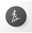 climbing stairs icon symbol premium quality vector image