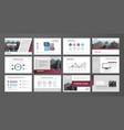 presentation templates vector image vector image