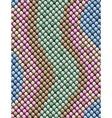 snake skin vector image vector image