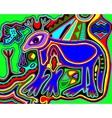 unusual Ukrainian traditional tribal art in vector image vector image