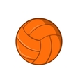 Volleyball icon cartoon style vector image vector image