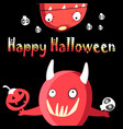 bright monsters funny vector image