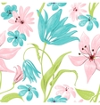Floral seamless pattern or background retro style vector image vector image