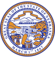 Nebraska Seal vector image vector image
