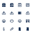 Software icons vector image