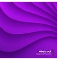 Violet Wavy background vector image vector image