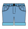 female short clothes icon vector image vector image