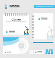 mouse logo calendar template cd cover diary and vector image vector image