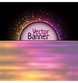 rainbow abtract element vector image vector image