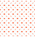 seamless pattern on valentines day texture with vector image