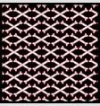 seamless pattern skull crossbones vector image