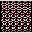 seamless pattern skull crossbones vector image vector image