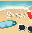 summer season design vector image vector image