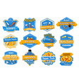work tool isolated badge set home repair design vector image vector image