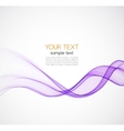 Abstract background purple wavy vector image vector image