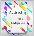 abstract background with many elements in vector image vector image