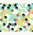 colorful irregular abstract geometric vector image