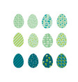 Easter eggs icons easter eggs for easter holidays