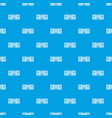 music center pattern seamless blue vector image vector image