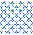 seamless square pattern background - royal blue vector image vector image