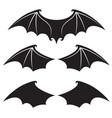 set bat wings